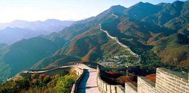 The Great Wall of Badaling—One of the Seven Wonders in the World