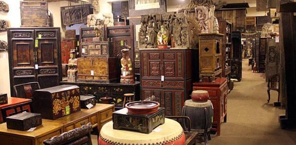 Shanghai Green Antiques 上海阁棂古董市场