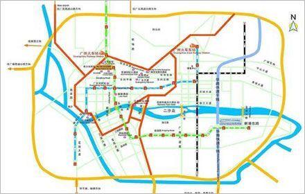 Location Map of Canton Fair Complexes