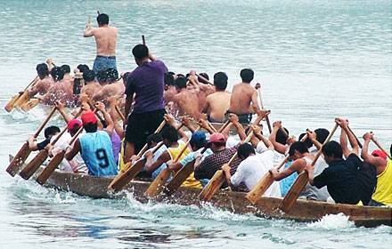 Dragon Boat Racing Match