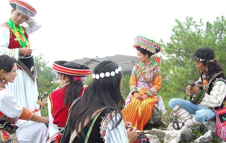 Knife-Pole Festival of Lisu