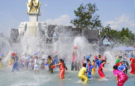 Dai People's Water Splashing Festival