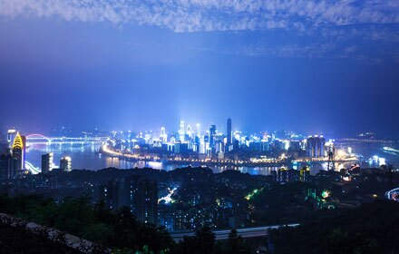 Chongqing by night