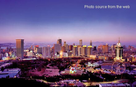 Dalian by night