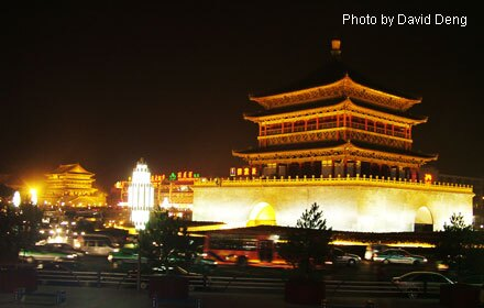 Xian by night