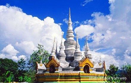 Manfeilong White Pagoda