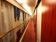 Hallway on China Oriental Express