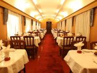 Dining Car on China Oriental Express