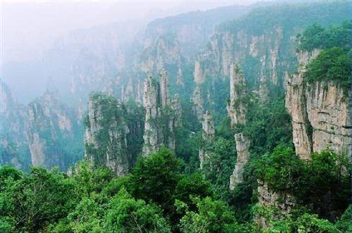 Zhangjiajie Hallelujah Mountains in Avatar