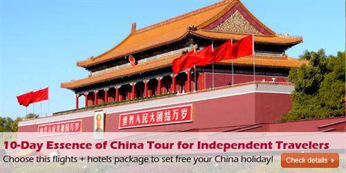 10-Day Essence of China Tour for Independent Travelers