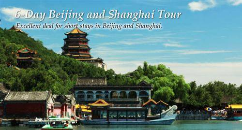 6-Day Beijing and Shanghai Tour