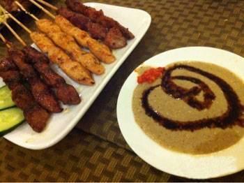 Satay miscellaneous kebabs