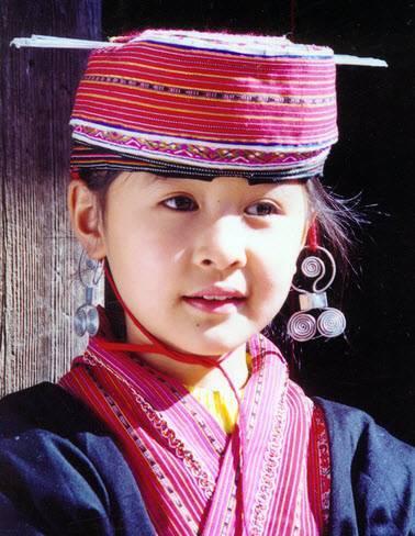 Girl of Yao Ethnic Group