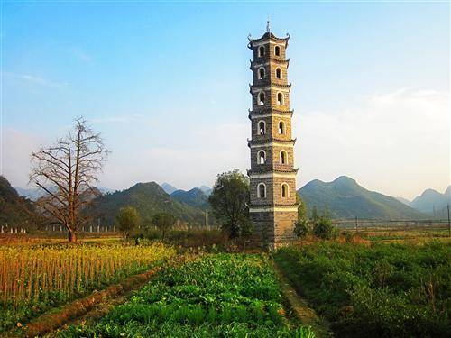 The old tower in Haiyang